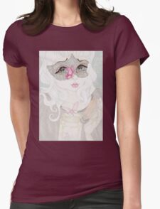 Mysterious Lady Womens Fitted T-Shirt