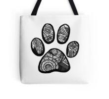 Tumblr Paw Print Tote Bag