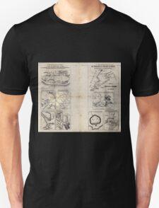 Civil War Maps 1909 War maps and diagrams 04 Unisex T-Shirt