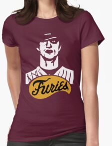 The Warriors Baseball Furies Womens Fitted T-Shirt
