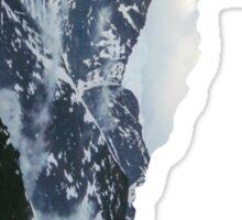 vermont mountains Sticker