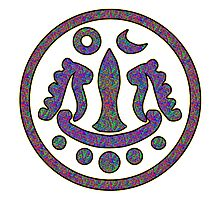 Tirtankara symbol Photographic Print