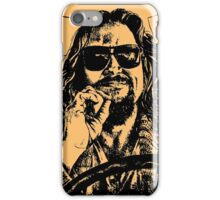Big lebowski Orange iPhone Case/Skin