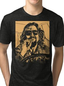 Big lebowski Orange Tri-blend T-Shirt
