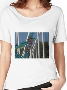 Fury 325 at Carowinds Roller Coaster Women's Relaxed Fit T-Shirt