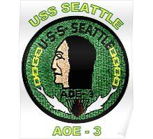 AOE-3 USS Seattle Poster