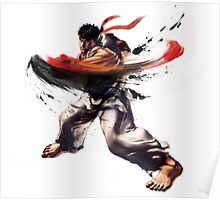 StreetFighter V - Ryu Poster
