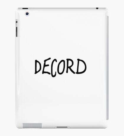 Wacky Decord Design iPad Case/Skin