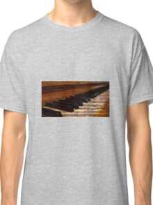 Piano and music Classic T-Shirt
