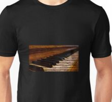 Piano and music Unisex T-Shirt