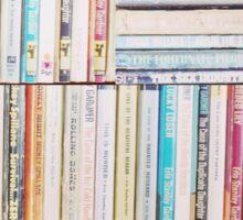 Books Vintage Sticker