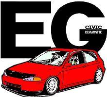 Civic - EG by Klaaamotte
