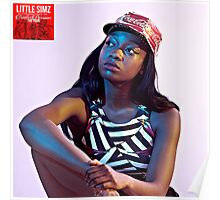 Little Simz Coca-Cola Hat Poster