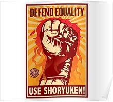 Streetfighter - Shoryuken ! Poster