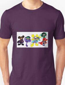Super Zeros! (Powerpuff Girls and Troublesome Trio) T-Shirt