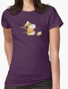 """""""Goofin' With the Bees"""" Womens Fitted T-Shirt"""