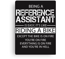 Reference Assistant Canvas Print