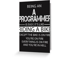 A Programmer Greeting Card