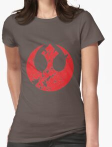 Rebel Alliance Emblem Womens Fitted T-Shirt