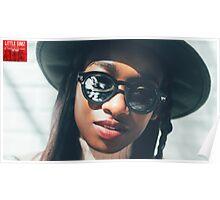 Little Simz sunglasses Poster