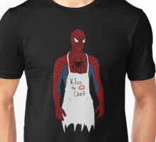 Kiss the Spidey Chef Unisex T-Shirt
