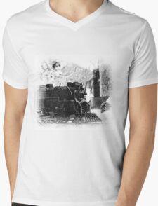 Lionel Polar Express Mens V-Neck T-Shirt