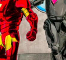 Iron men Sticker