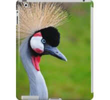 Grey-Necked Crowned Crane iPad Case/Skin