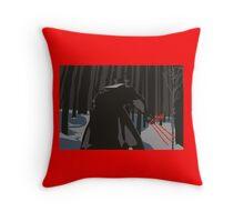 Wolver Ren Throw Pillow