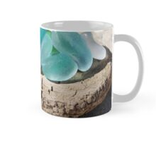 10 Sea glass and sea shells collection Mug
