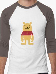 PoohDeki Men's Baseball ¾ T-Shirt