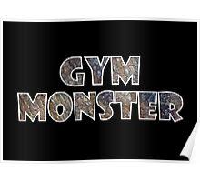 Gym Monster (Beast) Poster