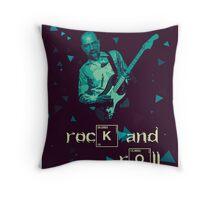 Breaking Rock Throw Pillow