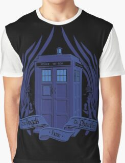 Doctor Who - Angels have the Phone Box Graphic T-Shirt