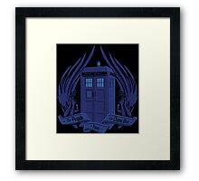 Doctor Who - Angels have the Phone Box Framed Print