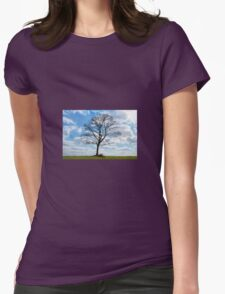 Summer tree Womens Fitted T-Shirt
