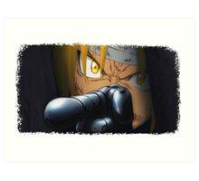 Edward Elric Full Metal Alchemist Art Print
