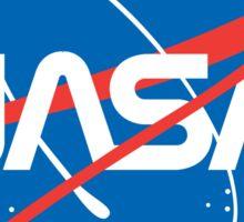 NASA Future Retro Sticker