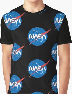 NASA Future Retro Graphic T-Shirt