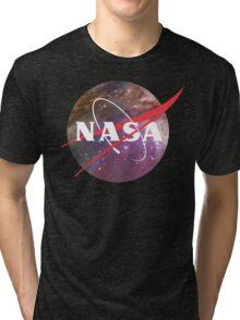 NASA NEBULA LOGO Tri-blend T-Shirt