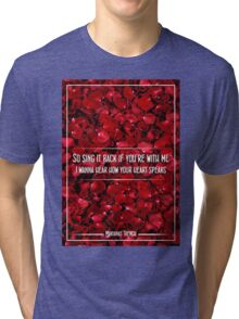 Marianas Trench While We're Young Tri-blend T-Shirt