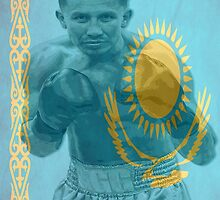 GGG Gennady Golovkin Boxing Kazakhstan by RighteousOnix