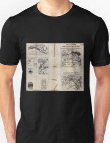 Civil War Maps 1909 War maps and diagrams 03 Unisex T-Shirt