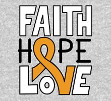 Faith Hope Love - Apendix Cancer Awareness Unisex T-Shirt