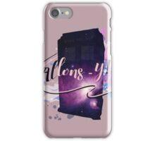 Tardis' Allons-y! iPhone Case/Skin
