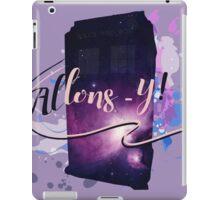 Tardis' Allons-y! iPad Case/Skin