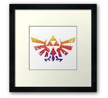 Skyward Rainbow Framed Print