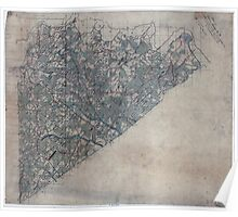 Civil War Maps 0783 Map of Prince George Co Va Poster