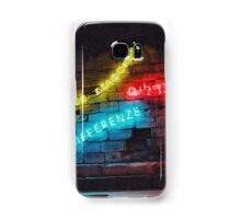 Love the Differences Neon Artwork Samsung Galaxy Case/Skin