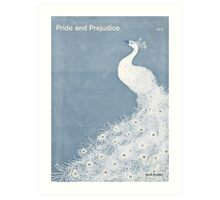 "Jane Austen ""Pride and Prejudice"" Art Print"